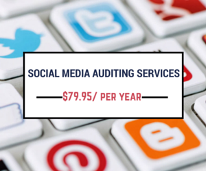 Social Media Auditing Services for only 79 Dollars